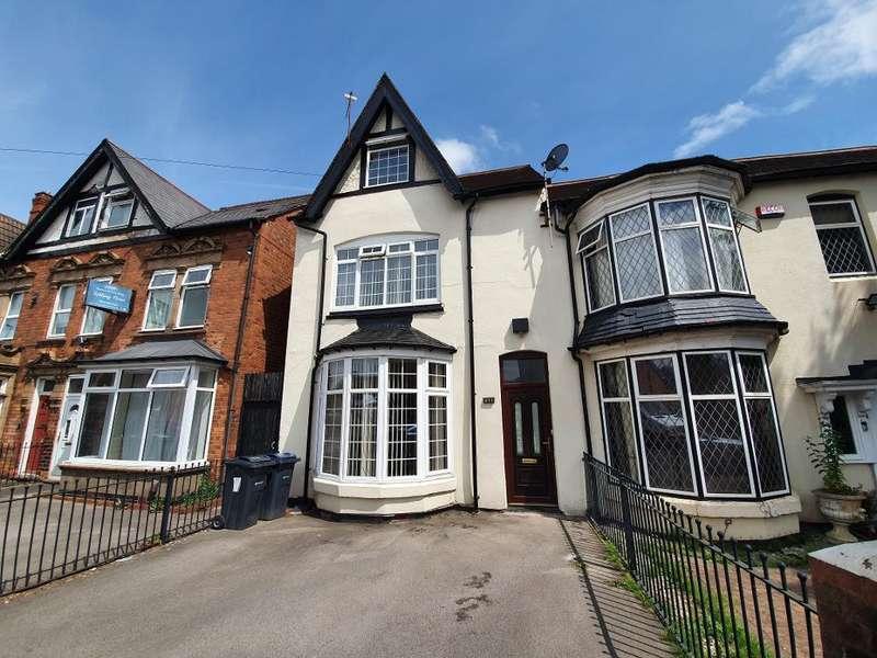 5 Bedrooms Semi Detached House for sale in Rotton Park Road, Edgbaston, Birmingham, B16 0LS