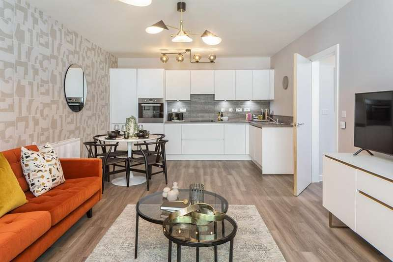 3 Bedrooms Flat for sale in Bls Temp, New Market Place, Pilgrims Way, East Ham, LONDON, E6 1HW