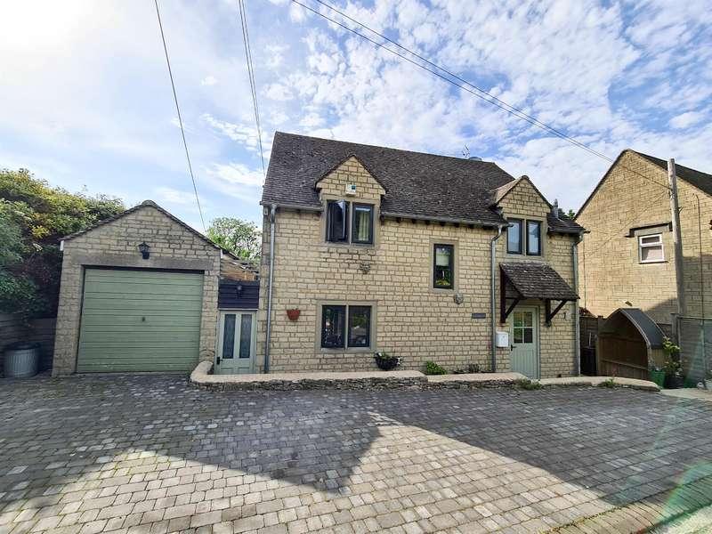 4 Bedrooms Detached House for sale in Wells Road, Eastcombe, Stroud, GL6 7EE