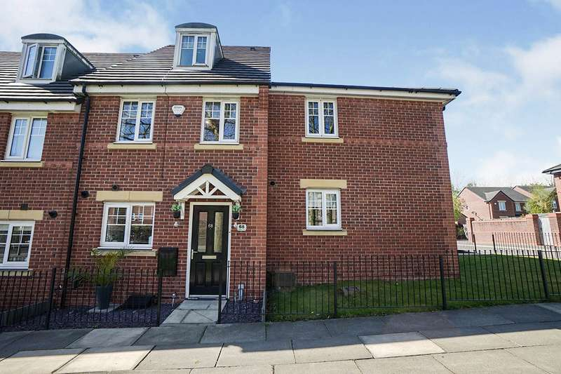 3 Bedrooms Terraced House for sale in Hospital Road, Pendlebury, M27
