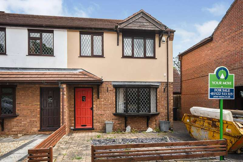 3 Bedrooms Semi Detached House for sale in Binbrook Close, Lincoln, Lincolnshire, LN6