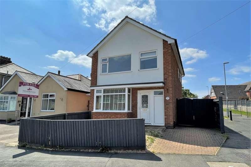 3 Bedrooms Detached House for sale in Elmhurst Avenue, Melton Mowbray
