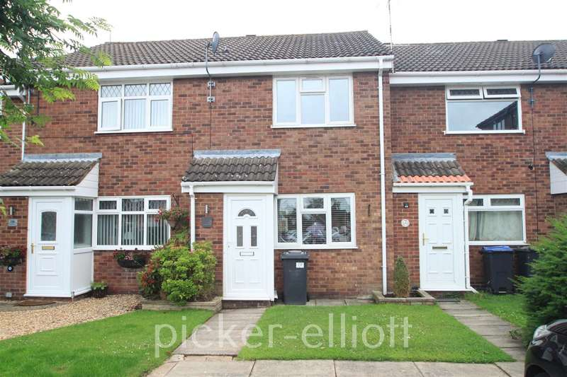 2 Bedrooms Terraced House for rent in Willow Close, Burbage
