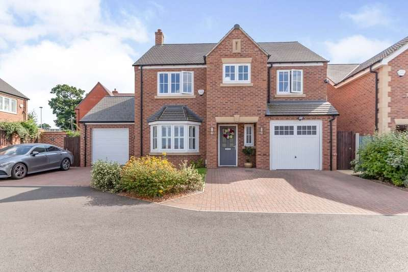 4 Bedrooms Detached House for sale in Iveshead Road, Shepshed, Loughborough, LE12