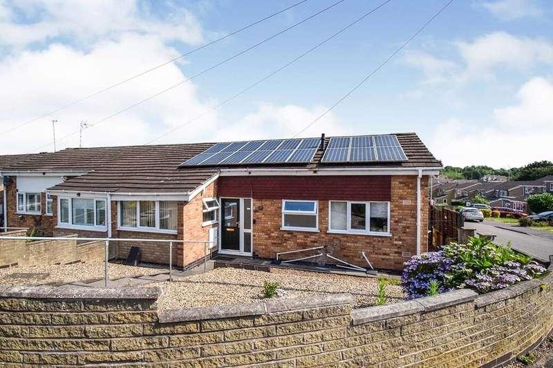 2 Bedrooms Semi Detached Bungalow for sale in Jessop Close, Leicester, LE3