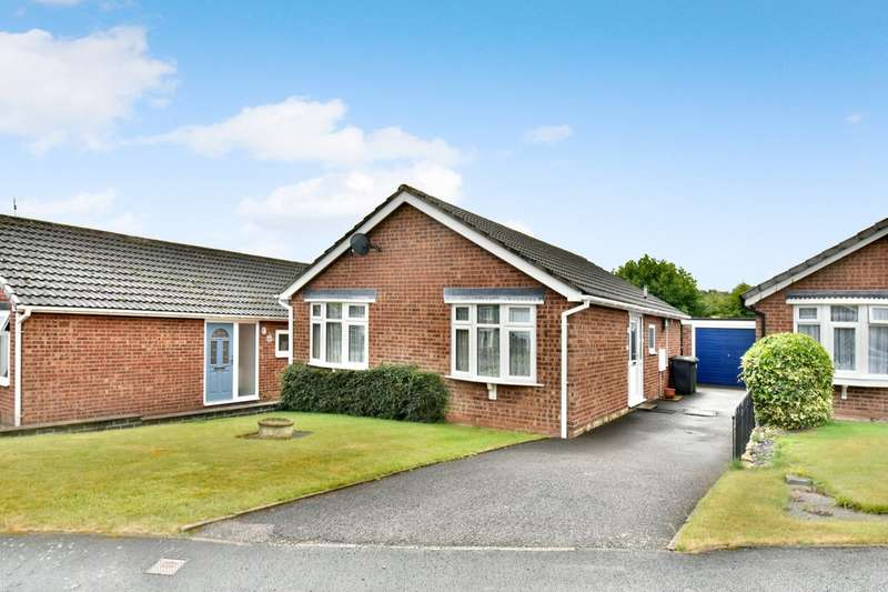 2 Bedrooms Detached Bungalow for sale in Rossall Drive, Ashby-de-la-Zouch