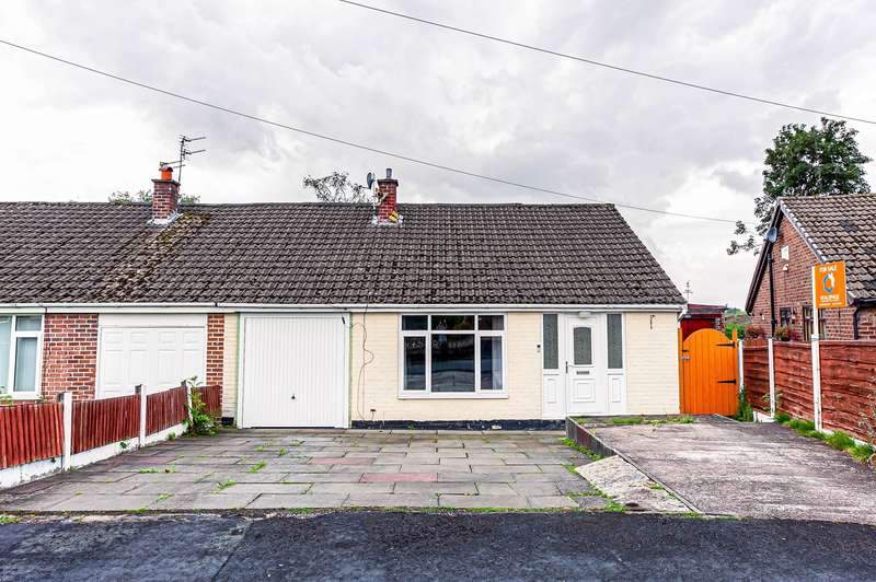 3 Bedrooms Semi Detached Bungalow for sale in Thirlmere Road, Partington, Manchester, M31