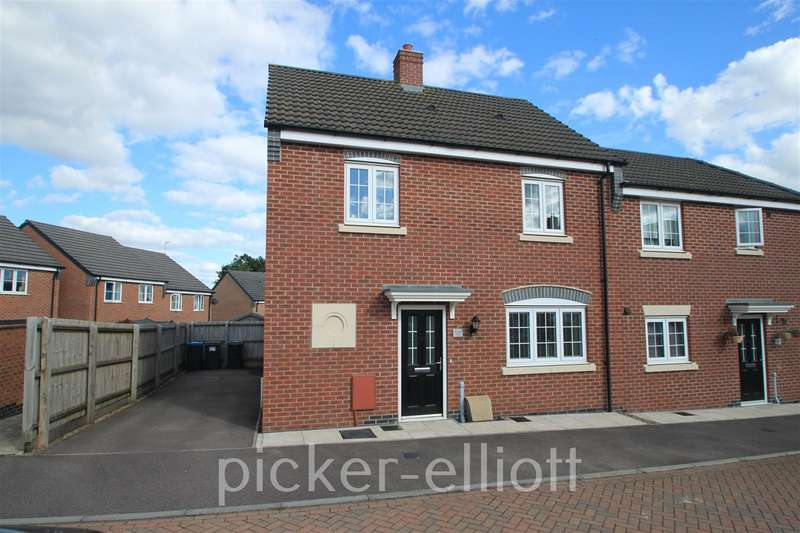3 Bedrooms Semi Detached House for sale in Kinross Way, Hinckley