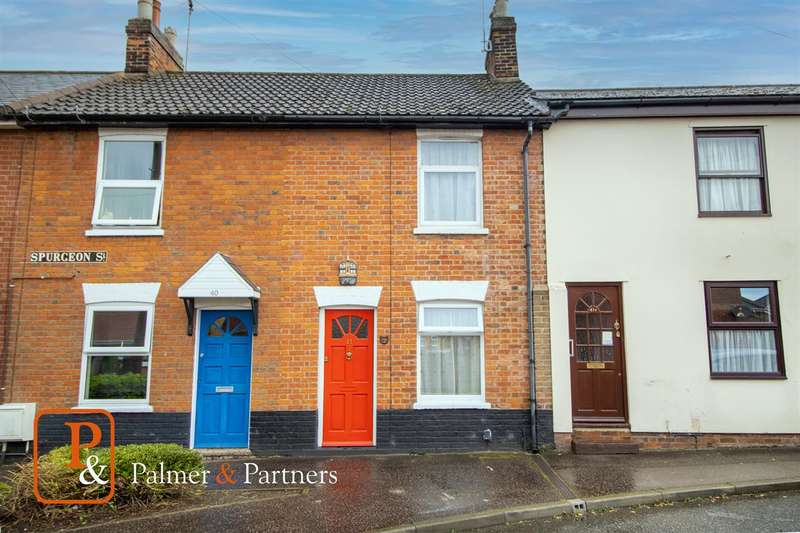 2 Bedrooms Terraced House for sale in Spurgeon Street, The Hythe, Colchester CO1
