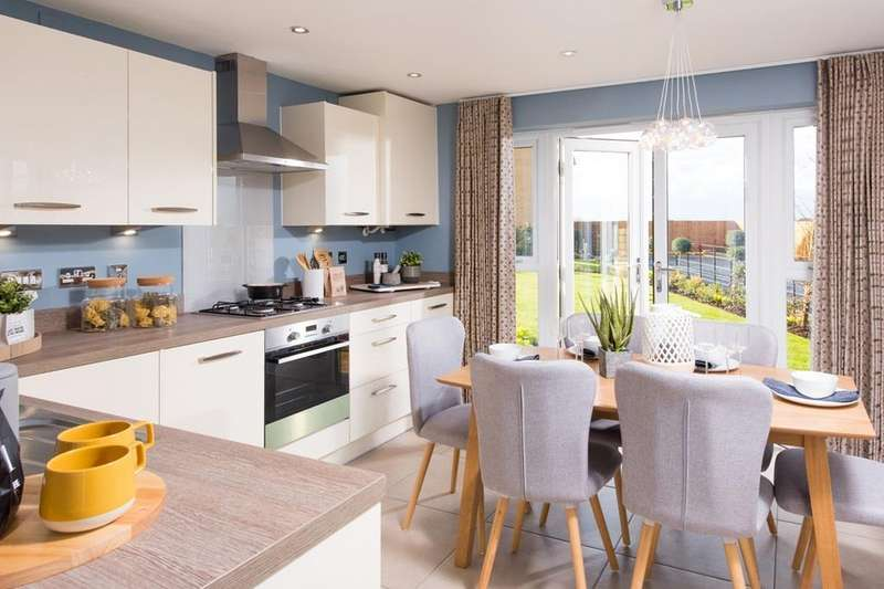 3 Bedrooms House for sale in Brentford, New Lubbesthorpe, Tay Road, Lubbesthorpe, LEICESTER, LE19 4BF