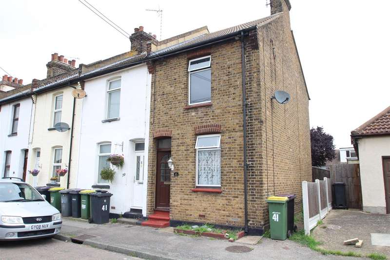 2 Bedrooms End Of Terrace House for sale in Queen Elizabeth Chase, Rochford