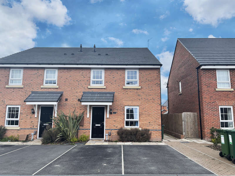 2 Bedrooms Semi Detached House for rent in Ettrick Way, Lubbesthorpe, Leicester, Leicestershire