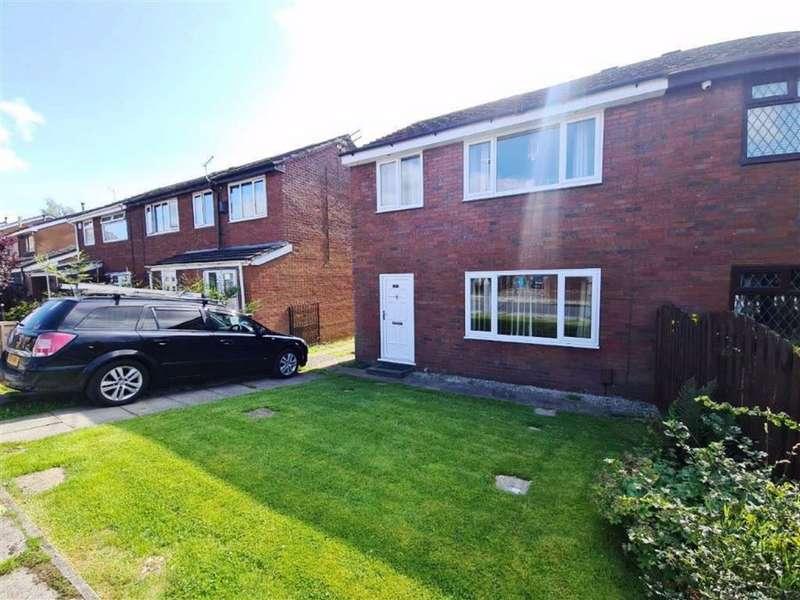 3 Bedrooms Semi Detached House for sale in Sutton Drive, Droylsden, Manchester