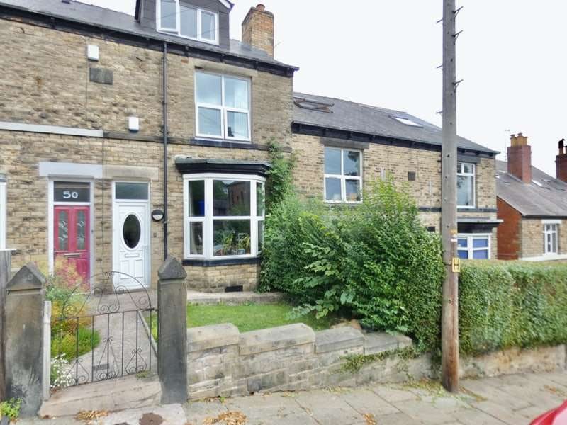4 Bedrooms Terraced House for sale in Bates Street, Sheffield, Sheffield, S10