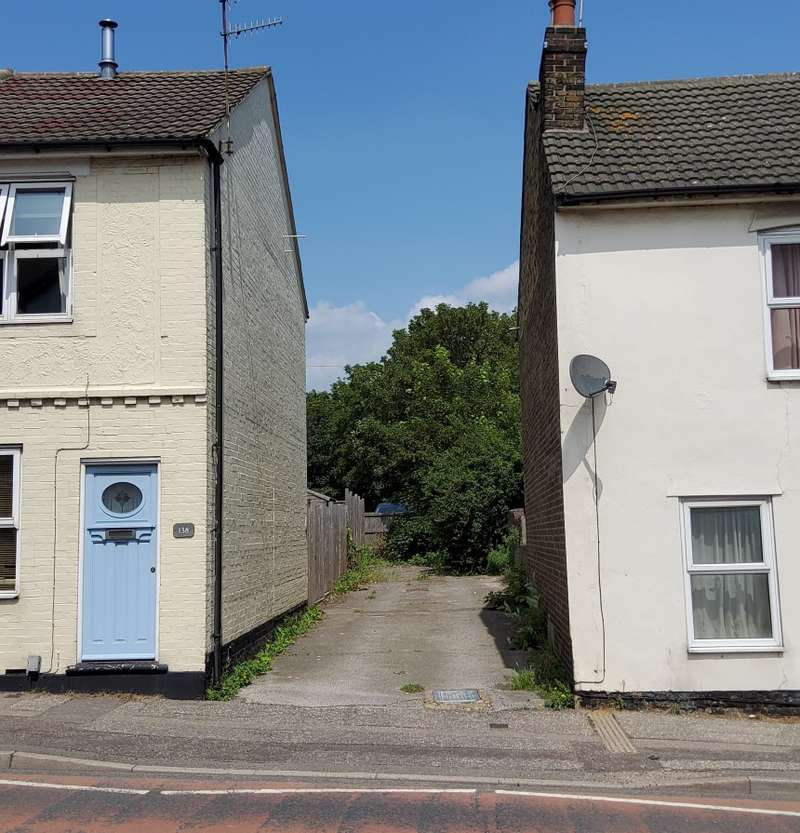 Land Commercial for sale in Land between 137 and 138 Hythe Hill, Colchester, Essex, CO1 2NF