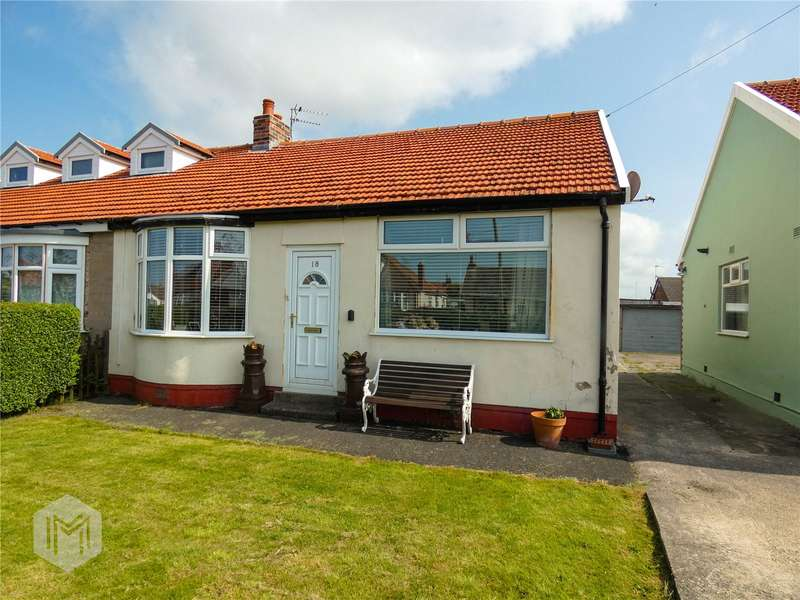 2 Bedrooms Semi Detached Bungalow for sale in Central Avenue North, Thornton-Cleveleys, FY5
