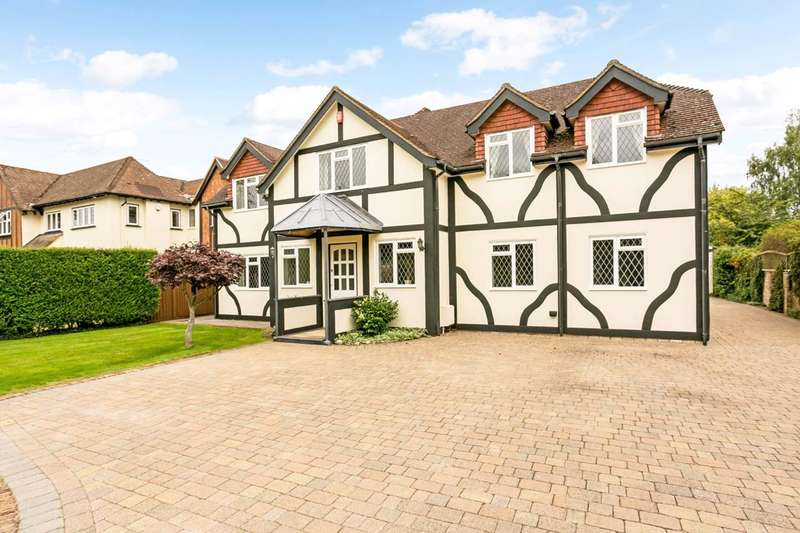 5 Bedrooms Detached House for sale in Wymers Wood Road, Burnham, SL1