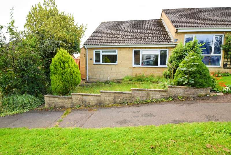 2 Bedrooms Semi Detached Bungalow for sale in Nortonwood, Nailsworth, Stroud, GL6