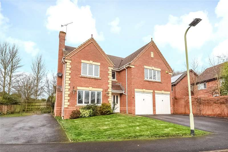 5 Bedrooms Detached House for sale in Rayner Drive, Arborfield, Reading, Berkshire, RG2