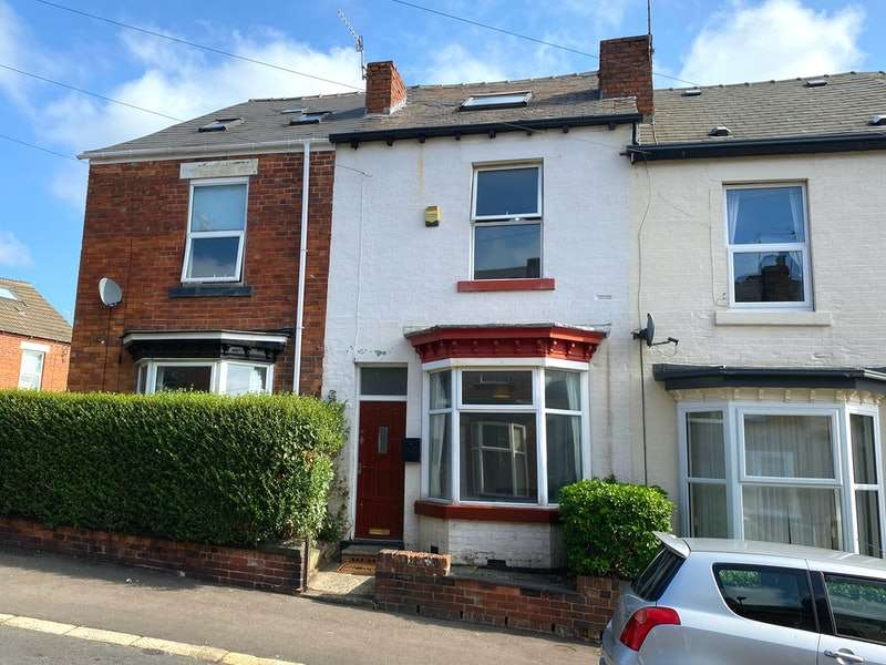 3 Bedrooms Terraced House for sale in Ramsey Road, Crookes, Sheffield, South Yorkshire, S10