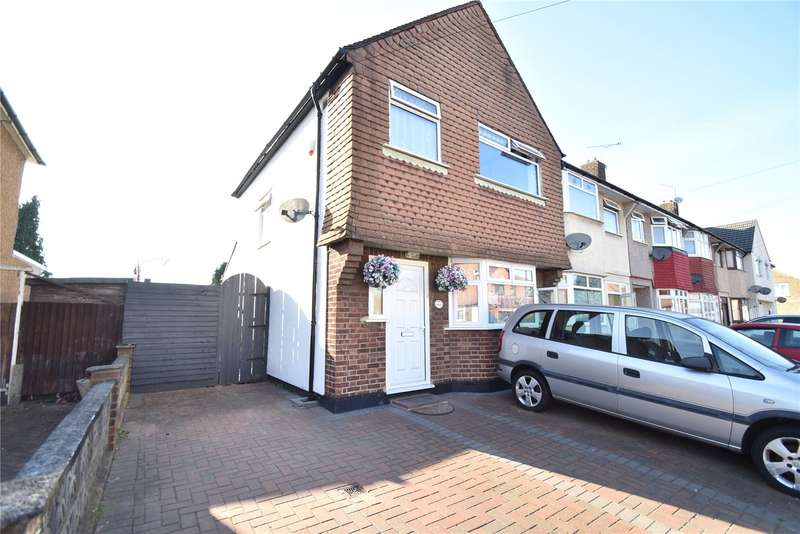 3 Bedrooms End Of Terrace House for sale in Naseby Road, Dagenham, RM10