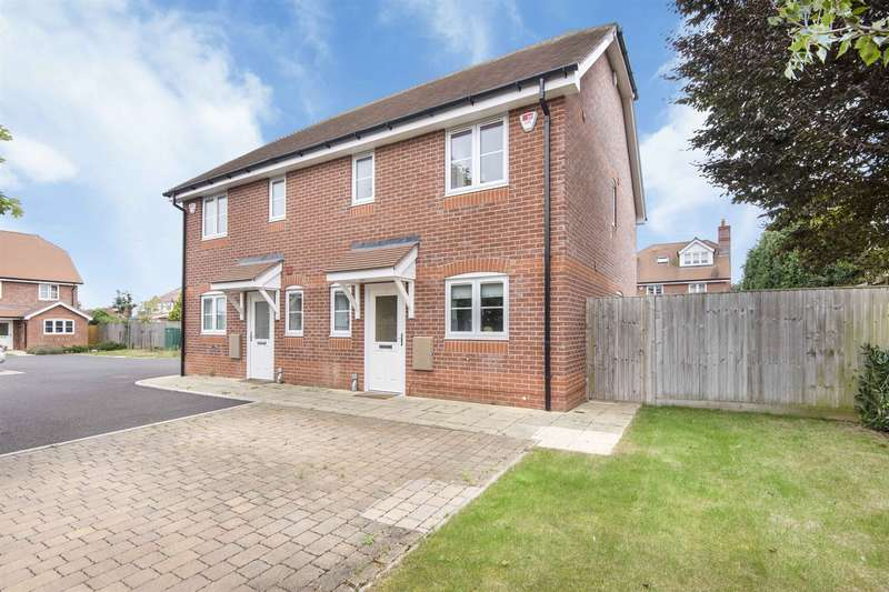 3 Bedrooms Semi Detached House for sale in Oakleigh, Hilltop Road, Earley, Reading, RG6