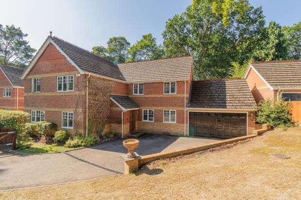 5 Bedrooms Detached House for sale in Edgbarrow Rise, Sandhurst, Berkshire