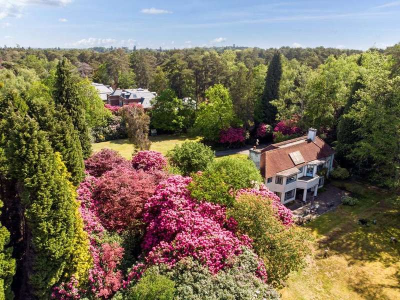 5 Bedrooms Detached House for sale in Coronation Road, Ascot, Berkshire, SL5