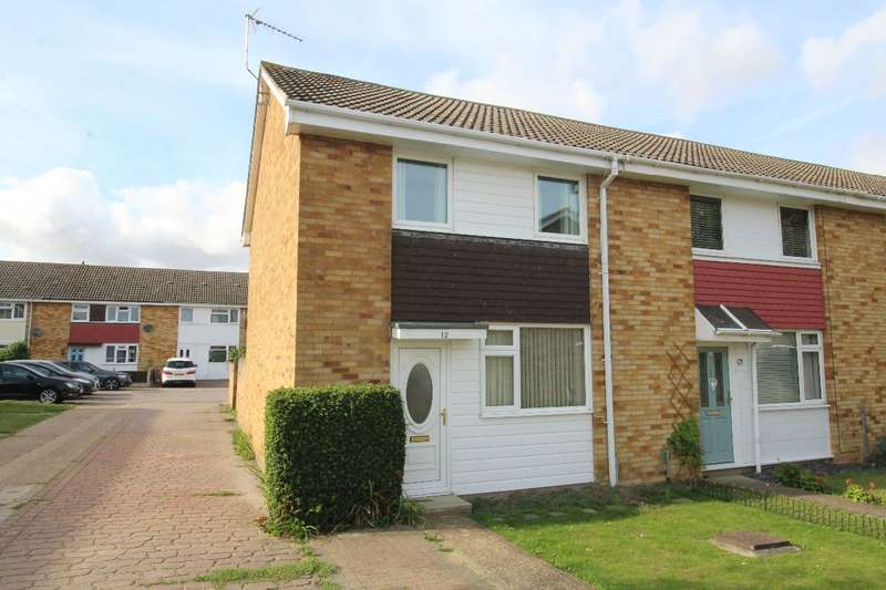 2 Bedrooms End Of Terrace House for sale in Sutor Close, Witham