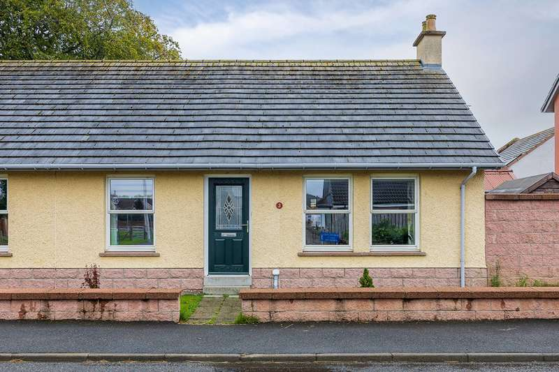 2 Bedrooms Semi Detached Bungalow for sale in Fraser Way, Rothienorman, Inverurie, AB51 8SE