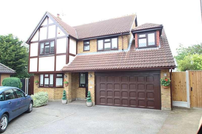5 Bedrooms Detached House for sale in Keysland, Benfleet