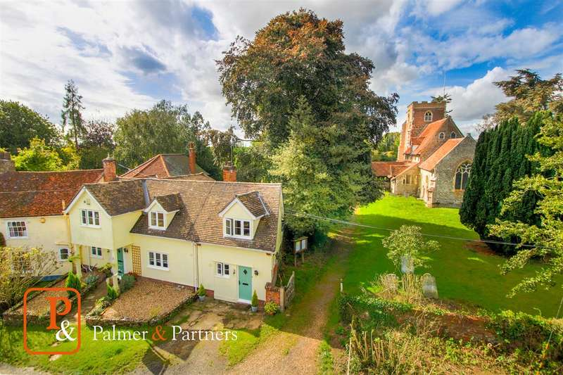 4 Bedrooms Cottage House for sale in St Peters Cottage, Church Street, Boxted, Colchester CO4