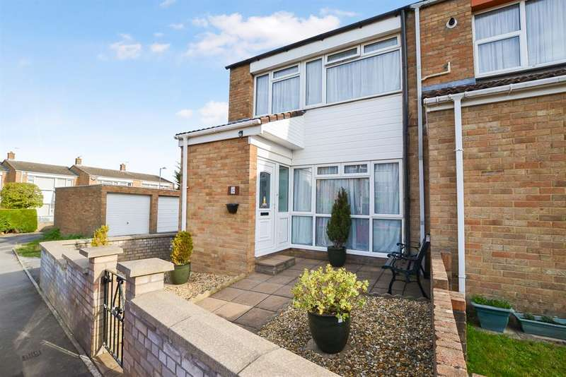 3 Bedrooms End Of Terrace House for sale in Cardill Close, Bristol, BS13 7JQ
