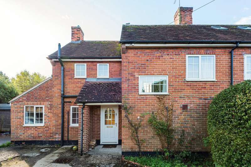 3 Bedrooms Semi Detached House for sale in Roden Cottages, Wallingford Road, Compton, Newbury, RG20