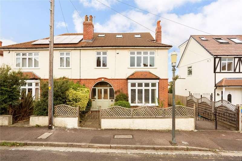 6 Bedrooms Semi Detached House for sale in Oakwood Road, Henleaze, Bristol, BS9