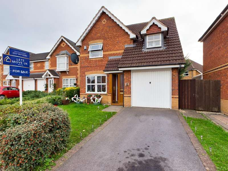 3 Bedrooms Detached House for sale in Wadham Grove, Emersons Green, Bristol