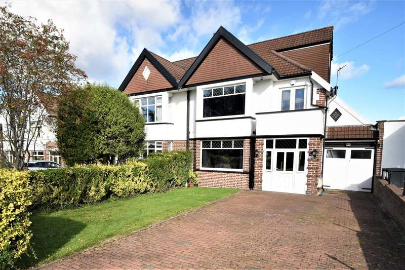 4 Bedrooms Semi Detached House for sale in Dyrham Close, Henleaze
