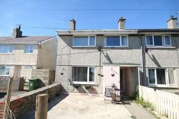 3 Bedrooms Terraced House for sale in Maes Gwelfor, Rhydwyn, Holyhead