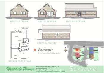 3 Bedrooms Detached Bungalow for sale in Plot 1, Galway Mews, Doncaster