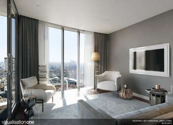 2 Bedrooms Flat for sale in SkyGardens, London