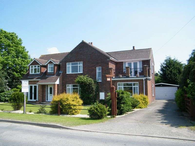4 Bedrooms Detached House for sale in WAINFLEET ROAD, IRBY IN THE MARSH, SKEGNESS, LINCS, PE24 5AT