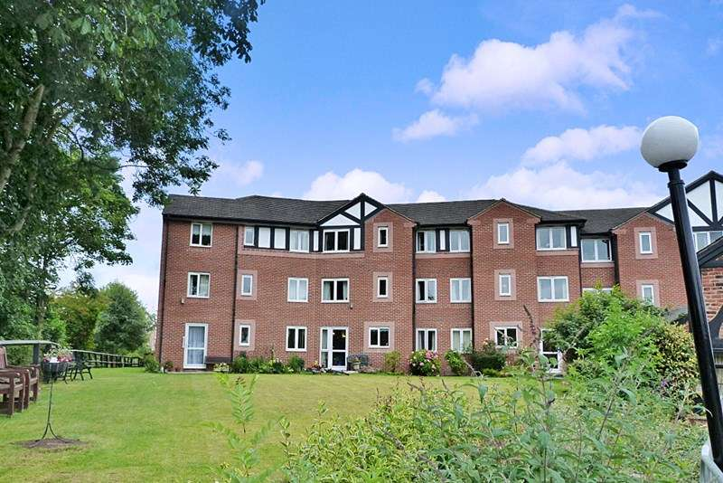2 Bedrooms Retirement Property for sale in Weaver Court, Northwich, CW9 5EU