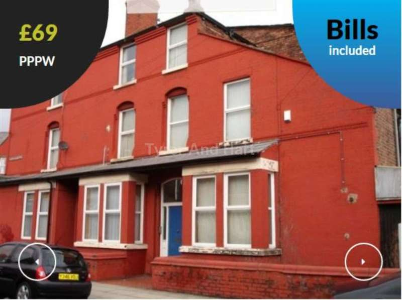 5 Bedrooms House Share for rent in Ramilies Road, Liverpool