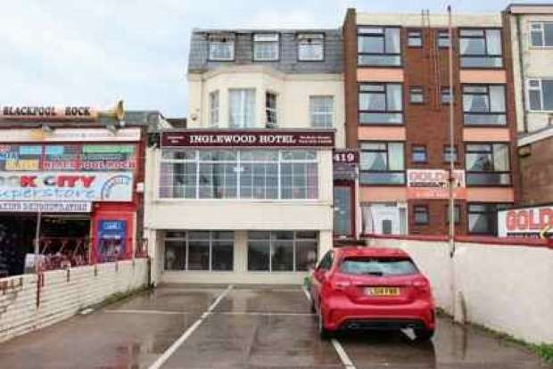 18 Bedrooms Hotel Gust House for sale in PROMENADE BLACKPOOL SOUTH SHORE