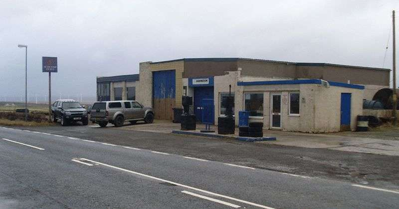 Property for sale in Mechanics Garage, Workshop, Showroom and Shop Property with Development Potential - Spittal, Caithness
