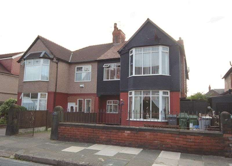 4 Bedrooms Semi Detached House for sale in Westbank Road, Birkenhead, Wirral