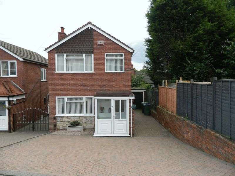 3 Bedrooms Detached House for sale in Longcroft Avenue, Wednesbury