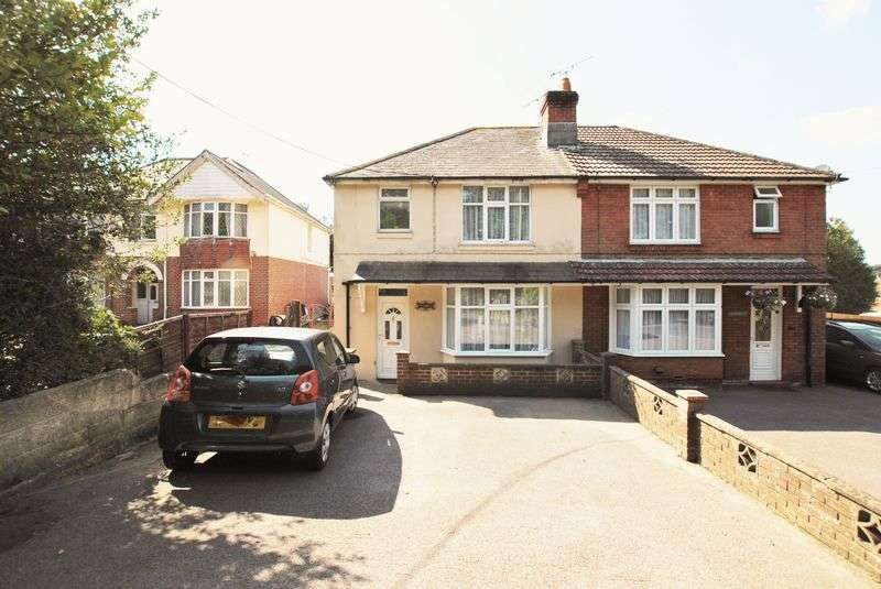 3 Bedrooms Semi Detached House for sale in Kanes Hill, Southampton