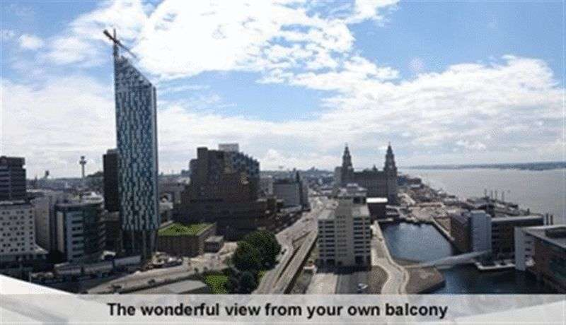 2 Bedrooms Flat for rent in William Jessop Way , City Centre, Liverpool