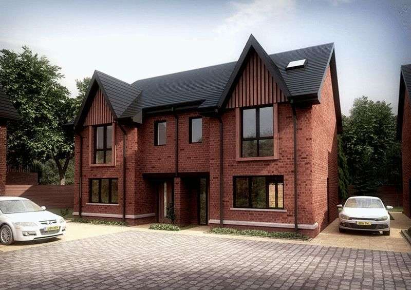 4 Bedrooms Semi Detached House for sale in PLOT 9 , The Gawsworth, Bankside Place, Radcliffe, Manchester